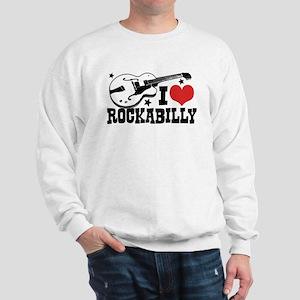 I Love Rockabilly Sweatshirt