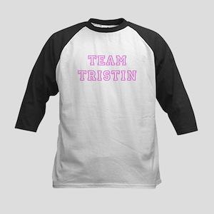 Pink team Tristin Kids Baseball Jersey