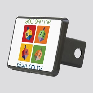 You Spin Me Rectangular Hitch Cover