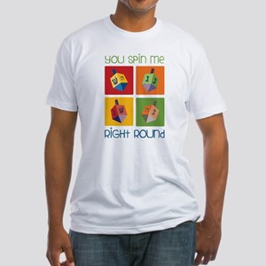You Spin Me Fitted T-Shirt