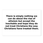 Rise of Atheism Quote Postcards (Package of 8)