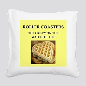 roller derby Square Canvas Pillow