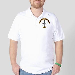 Army - Badge - LRRP Golf Shirt
