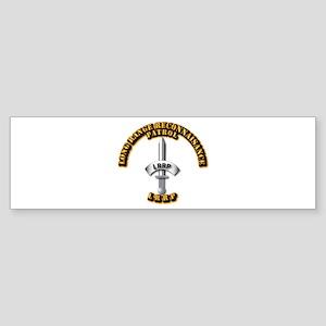 Army - Badge - LRRP Sticker (Bumper)