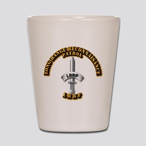 Army - Badge - LRRP Shot Glass