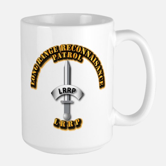 Army - Badge - LRRP Large Mug