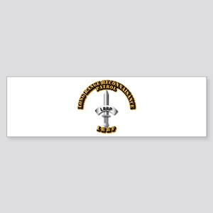 Army - Badge - LRRP Sticker (Bumper)