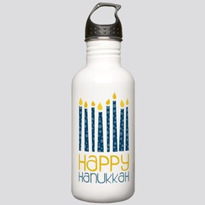 Happy Hanukkah Stainless Water Bottle 1.0L