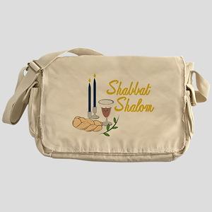 Shabbat Shalom Messenger Bag