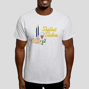 Shabbat Shalom Light T-Shirt