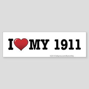 1911 Sticker (Bumper)