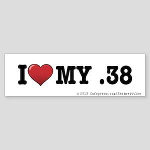 .38 Sticker (Bumper)