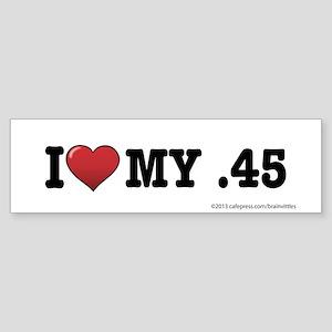 .45 Sticker (Bumper)