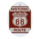 Lenwood Route 66 Ornament (Oval)