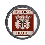 Lenwood Route 66 Wall Clock