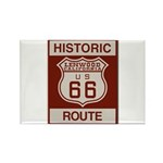 Lenwood Route 66 Rectangle Magnet (10 pack)