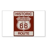 Lenwood Route 66 Sticker (Rectangle)