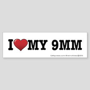 9MM Sticker (Bumper)