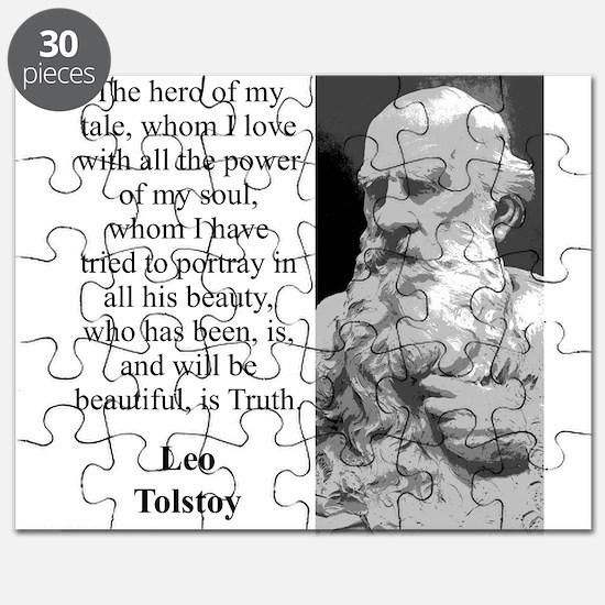 The Hero Of My Tale - Leo Tolstoy Puzzle