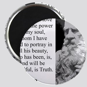 The Hero Of My Tale - Leo Tolstoy Magnet