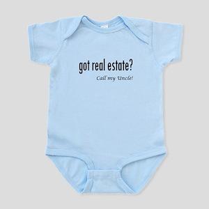 got real estate? Uncle Infant Bodysuit