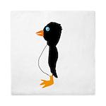 Penguin Profile Queen Duvet