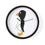 Penguin Profile Wall Clock