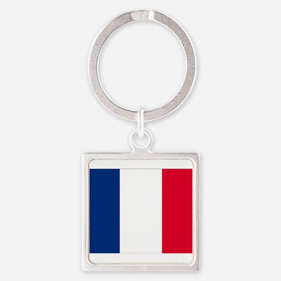 France Square Keychain