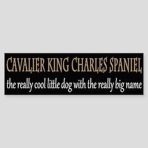 Cavalier King Charles Spaniel Sticker (Bumper)