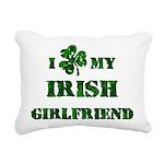 Irish Girlfriend Rectangular Canvas Pillow
