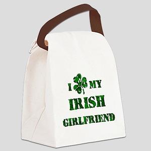 Irish Girlfriend Canvas Lunch Bag