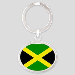 Jamaica Oval Keychain