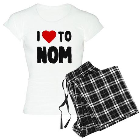 I Love to Nom Women's Light Pajamas