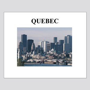 QUEBEC Small Poster