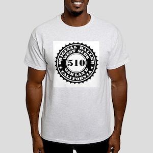 """""""OAKLAND BALLER 510"""" Ash Grey T-Shirt"""