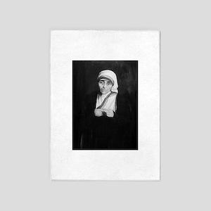 Mother Teresa 5'x7'Area Rug