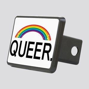 QUEER. Rectangular Hitch Cover