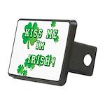 Kiss Me I'm Irish Rectangular Hitch Cover