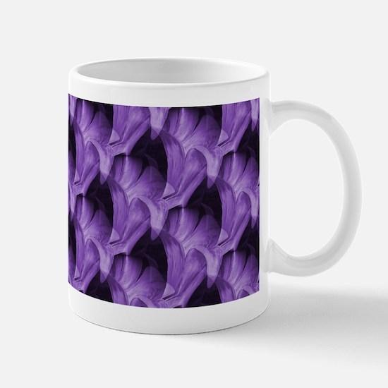 Purple Floral Mug