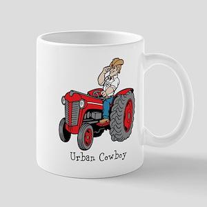 Urban Cowboy Tractor Mug