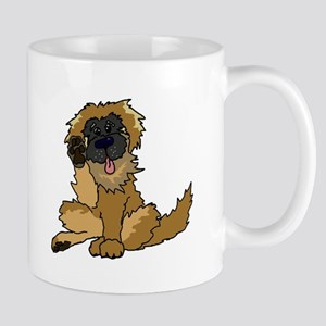 Leonberger cartoon Mugs