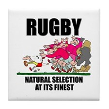 Natural Selection Rugby Tile Coaster