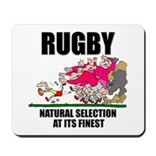Natural Selection Rugby Mousepad