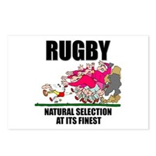 Natural Selection Rugby Postcards (Package of 8)