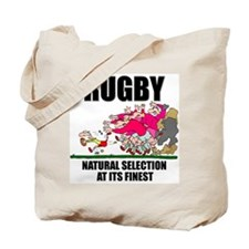 Natural Selection Rugby Tote Bag