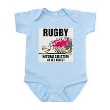 Natural Selection Rugby Infant Bodysuit