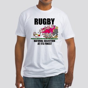 Natural Selection Rugby Fitted T-Shirt
