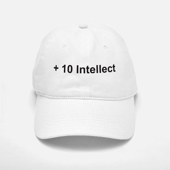 +10 Intellect Baseball Baseball Cap