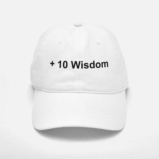 +10 Wisdom Baseball Baseball Cap
