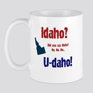 Idaho? U-daho! Mug